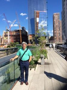 "En la ""High Line"""
