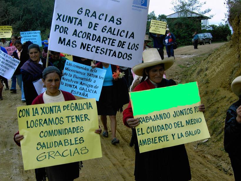Gracias Xunta de Galicia Pobreza Asistencialismo  Desigualdad Comunicación No me pidan calma