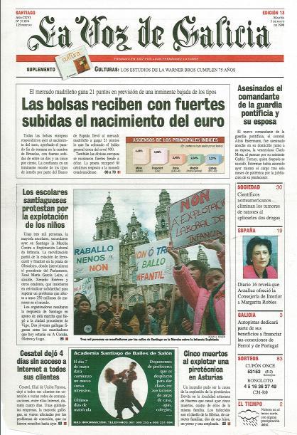 Marcha La Voz Santiago