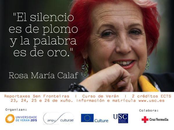 Rosa Calaf Periodismo Pobreza Asistencialismo No me pidan calma