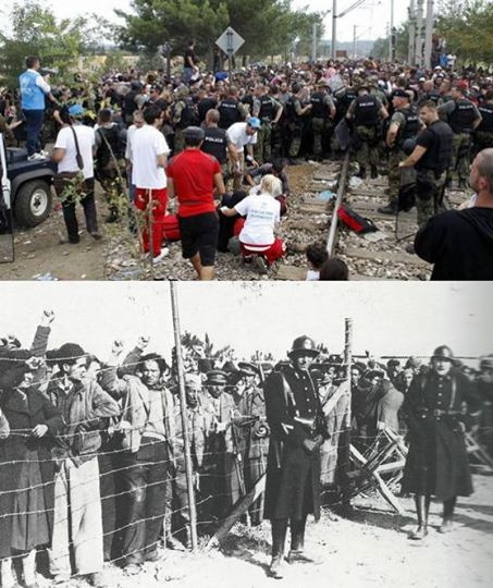 Refugiados ¿españoles o sirios?