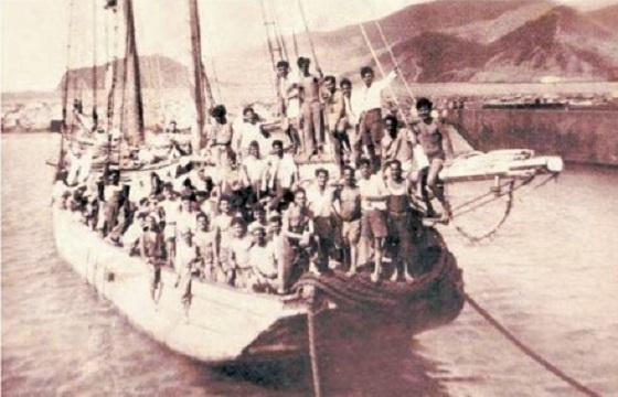 Refugiados canarios. Venezuela 1949