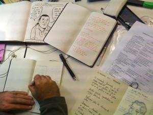 Boceto Comic pobreza Nicaragua Cooperacion