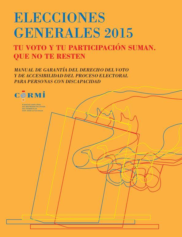 Voto CERMI discapacidad