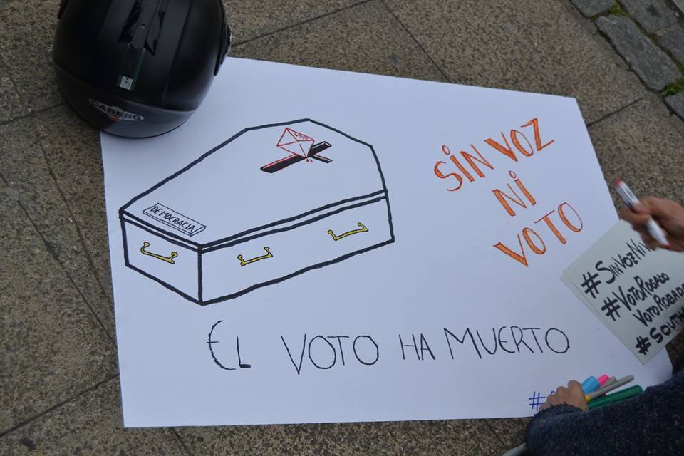 Voto a quien le importa el voto emigrante