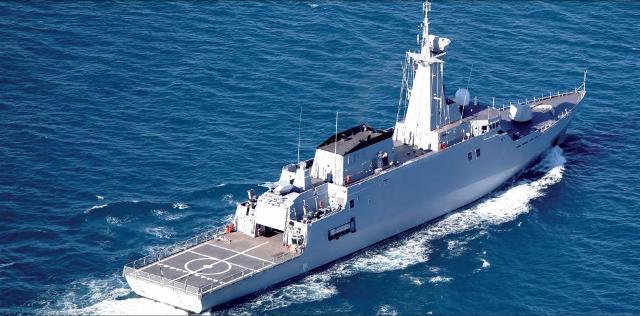 Fragata Avante 2200 patrol Fuente: www.navantia.es