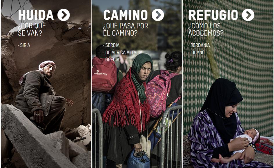 Buscando refugio. Oxfam Intermon