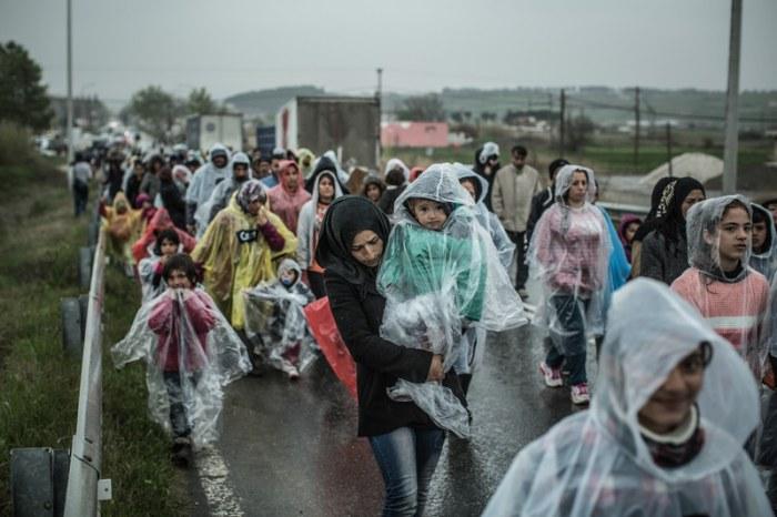 Miles de personas llegaron a Europa en 2015 en busca de refugio. (c) Pablo Tosco / Oxfam Intermón
