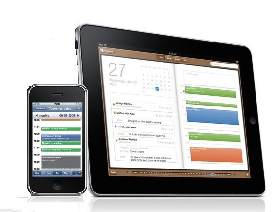 Calendario en iPhone y en iPad