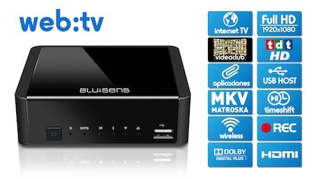 Actualización de firmware del WebTV de Blusens