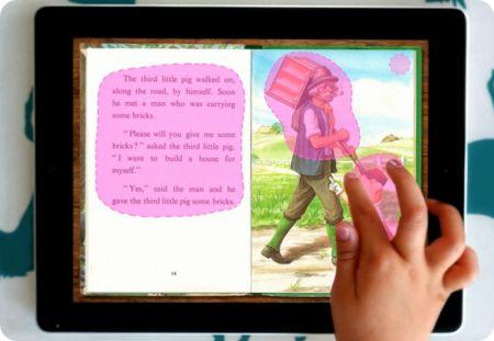 iPad como herramienta de lectura para niños
