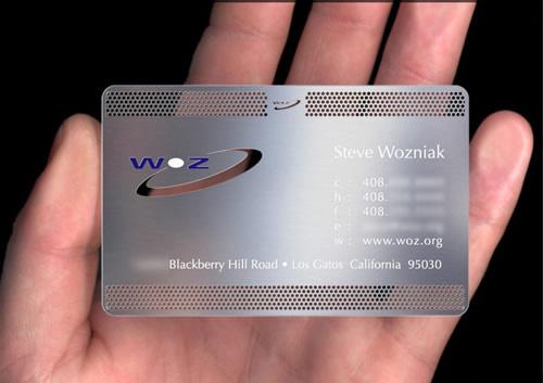 Tarjeta de visita de Steve Wozniak