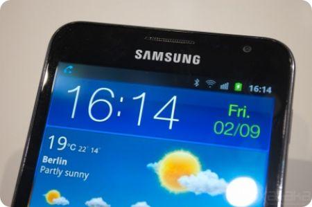 """Samsung Galaxy Note con pantalla de 5.3"""""""