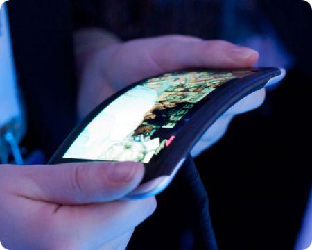 Móvil flexible de Nokia