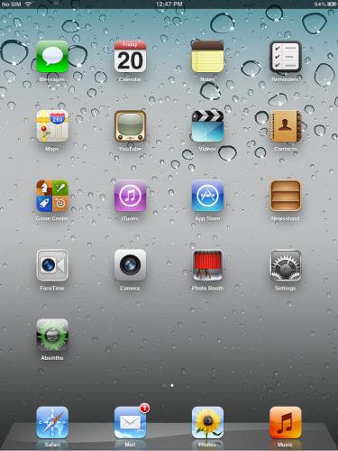 Jailbreak-Absinthe-iPad 2-untethered