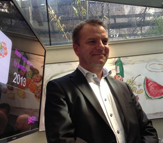 Johan Andsjö CEO de Yoigo
