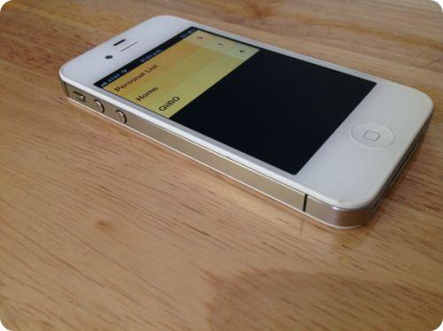 Clear para iPhone en acción