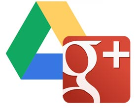 Convergencia Google Plus y Drive