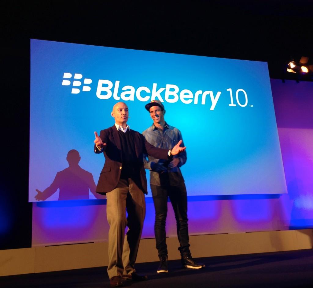 Presentacion Blackberry 10 en Madrid