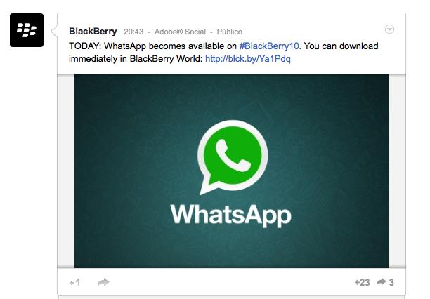 Whatsapp para BB10