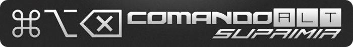 Comando Alt Suprimir. Logo. Podcast