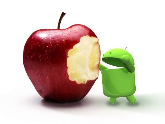 Pasar de iPhone a Android