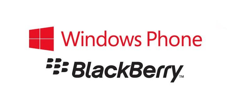 Windows Phone y Blackberry