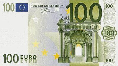 Billete de 100 EUR