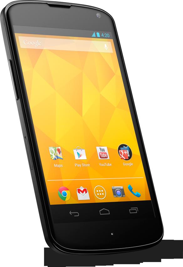 Google vuelve a romper el mercado. Nexus 4 por 199 EUR
