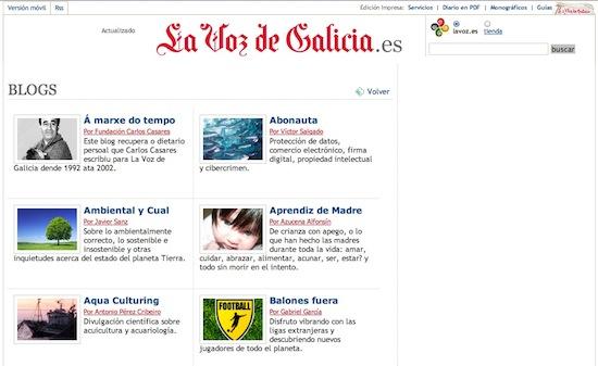 Página-inicio-blogs-Voz-Galicia