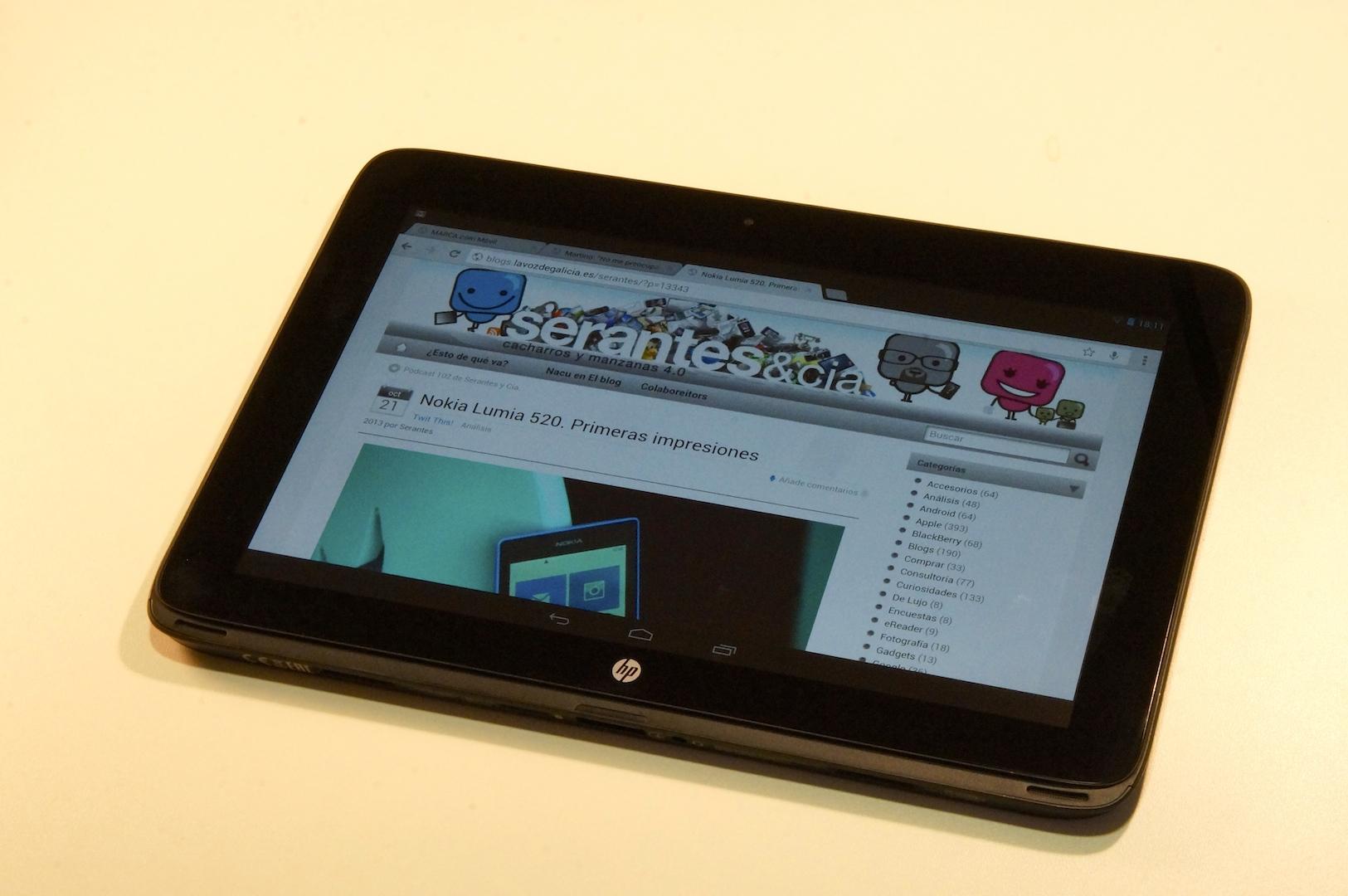 HP SlateBook X2 - Tableta