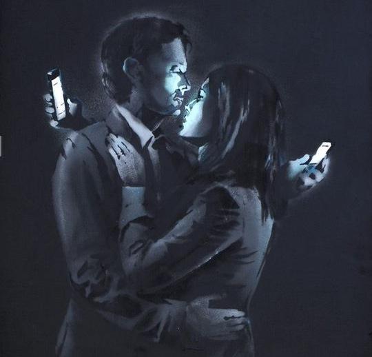 Mobile-Lovers-Banksy