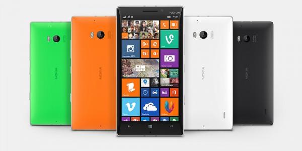Nokia Lumia 930 - Gama de colores