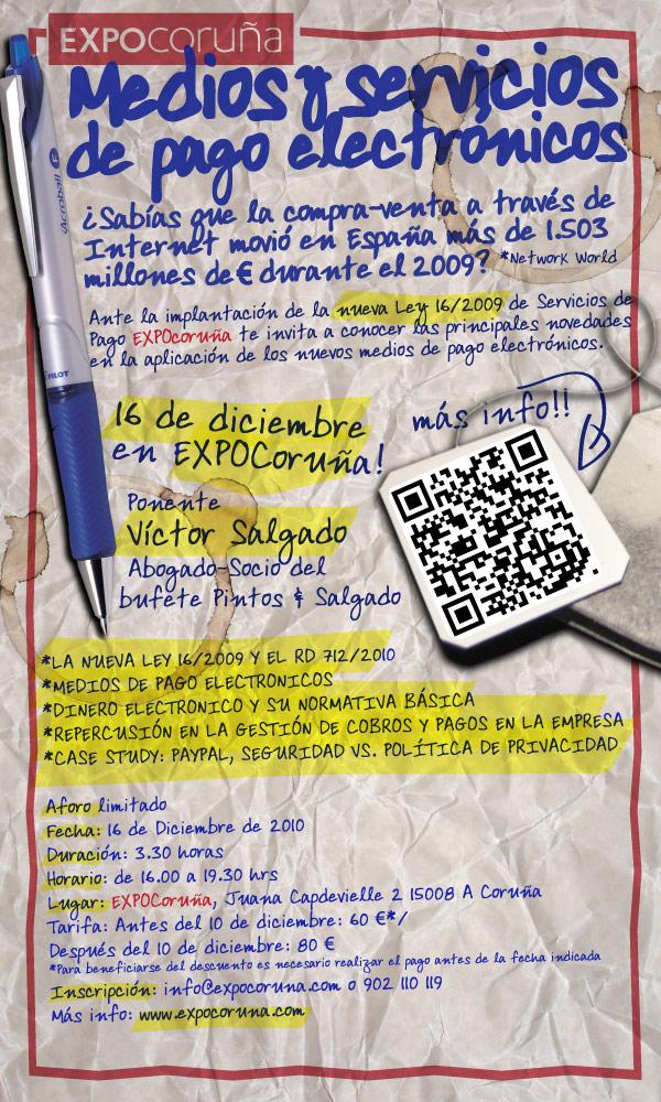 Seminario sobre medios y servicios de pago electrónicos - EXPOCoruña